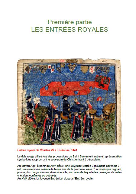 Les funérailles des rois et des reines de France